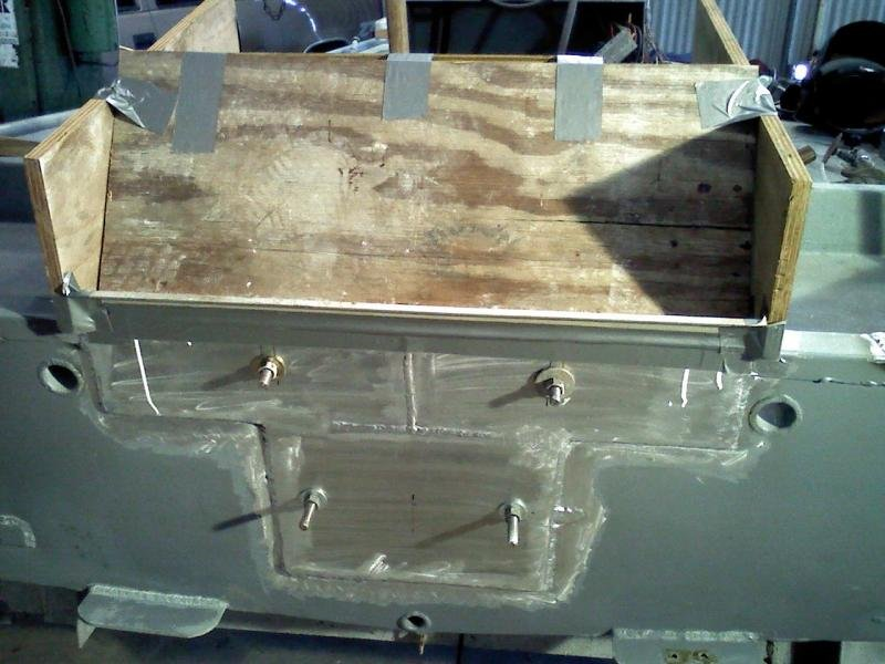 How To Seal Holes In Aluminum Boat Transom - Hole Photos In