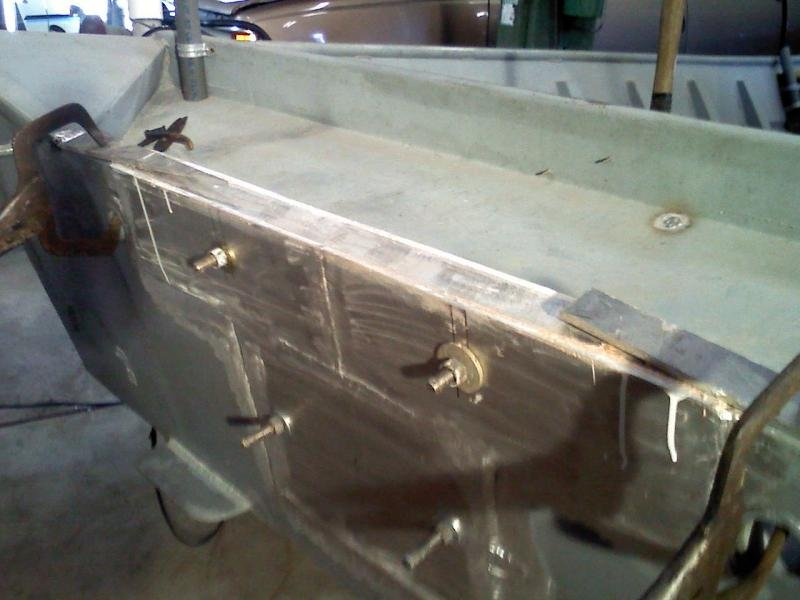 Aluminum Boat Transom Repair Pictures | small row boat plans