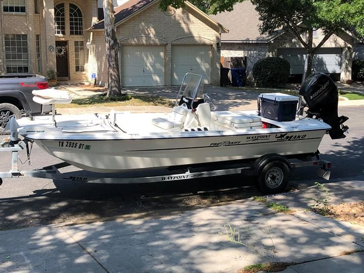 2017 Mako Pro Skiff 17 FOR SALE with Power Pole - 2CoolFishing