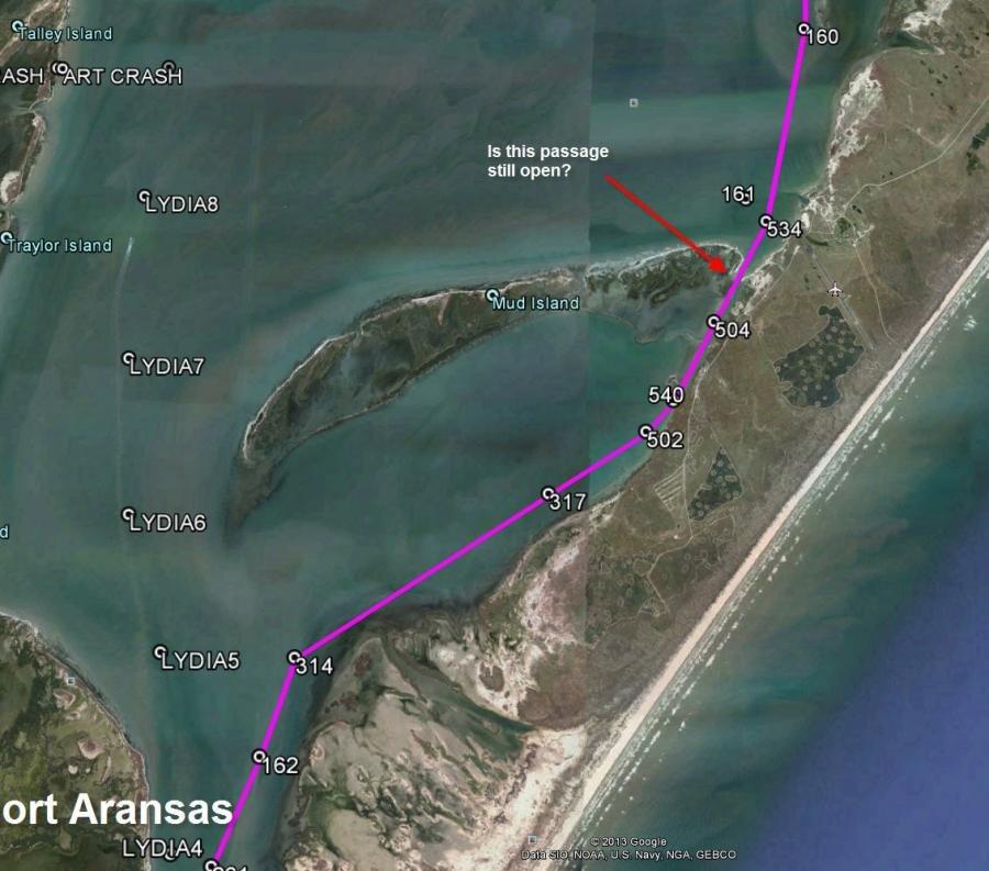 Port Aransas Area Mud Island Passage 2coolfishing