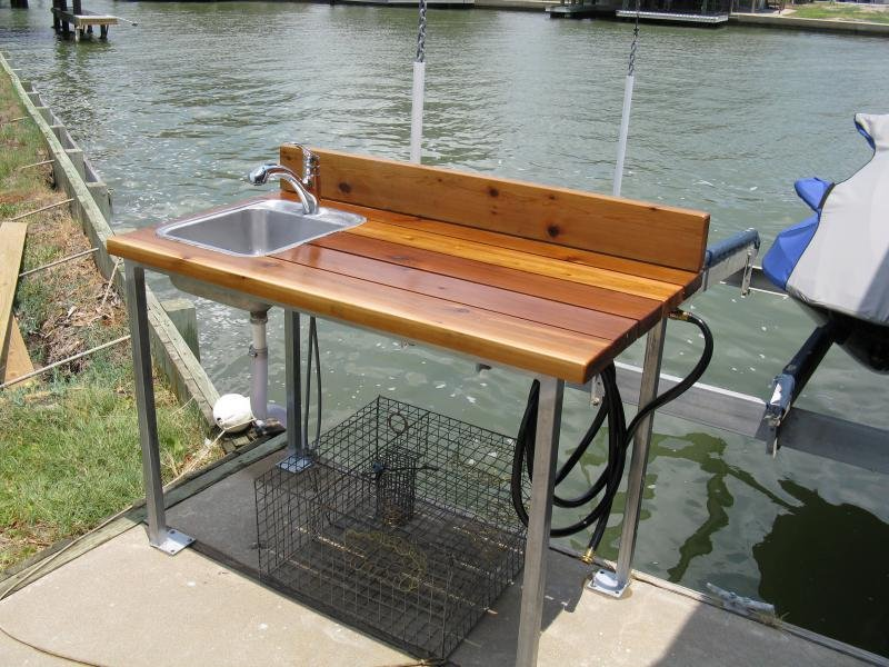Stainless Fish Cleaning Table Table Design Ideas