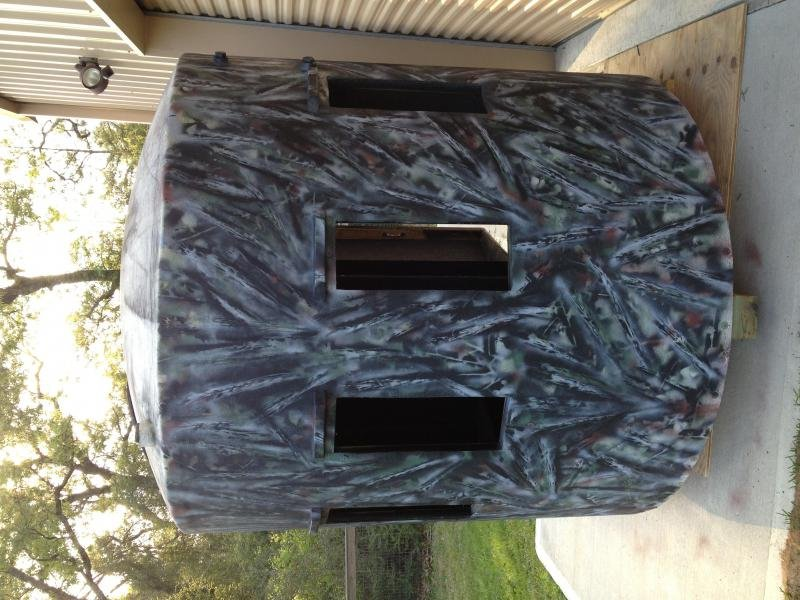 Show off your homemade ground blinds 2coolfishing solutioingenieria Gallery