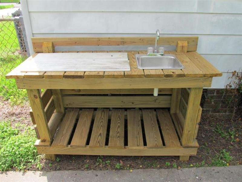 Outdoor Fish Cleaning Table Images Lobster And