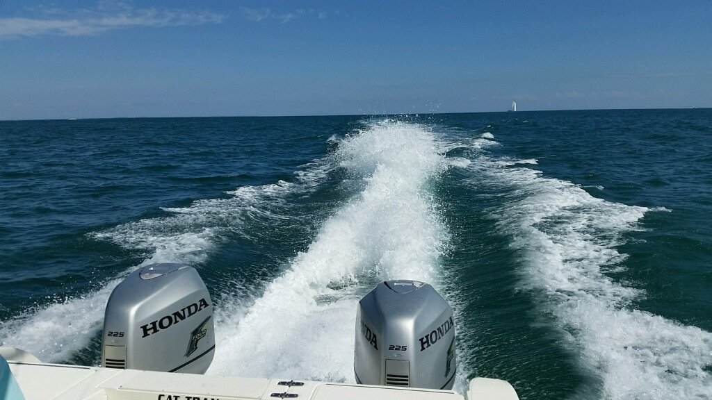 2003 Honda 225 Outboard Pair for Sale - 2CoolFishing