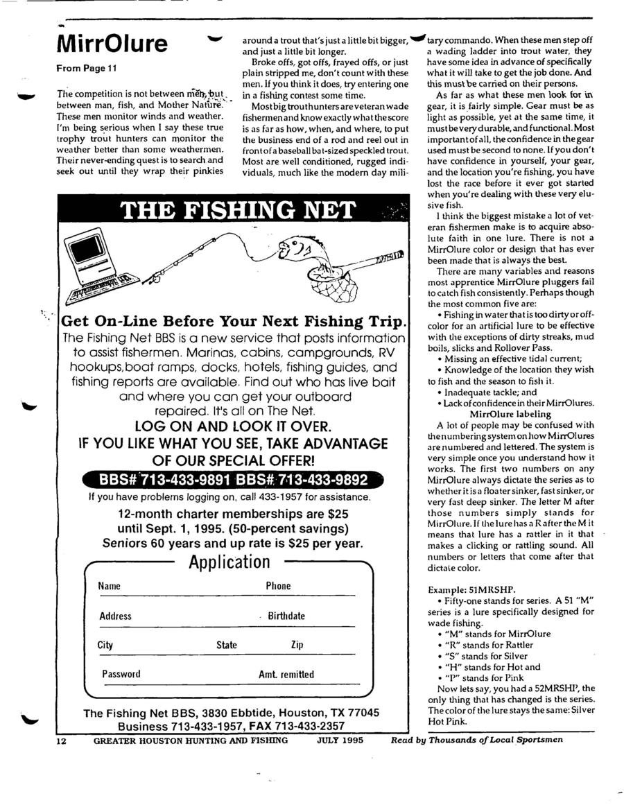 Mike Williams on Mirrolures - Page 3 - 2CoolFishing
