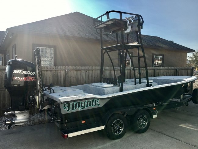 2014 Haynie 21 Super Cat Tower boat w/ 250 ProXS - 2CoolFishing