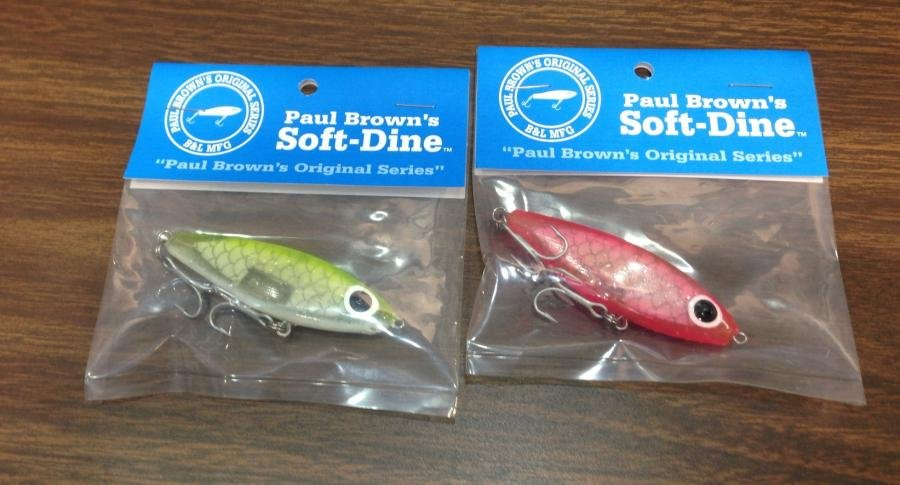mirrolure paul brown soft dine - 2coolfishing, Soft Baits