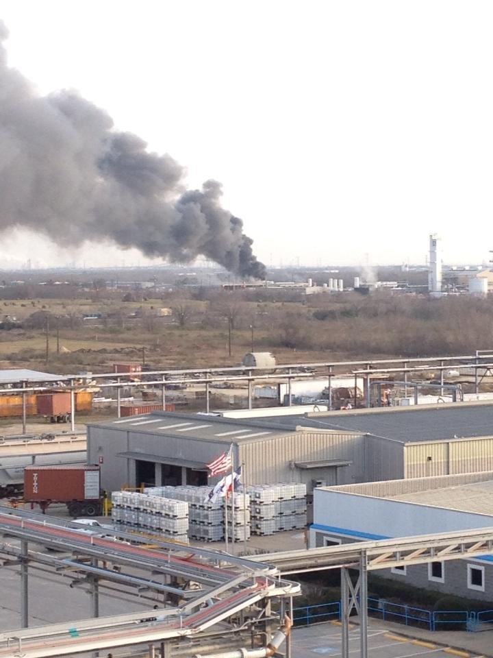 mystery gas plant explosion in La Plante, Texas