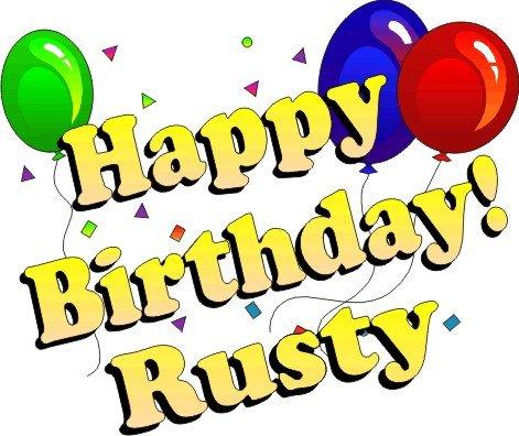 Happy Birthday Rusty - 2CoolFishing